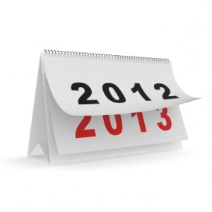 End of year 2012