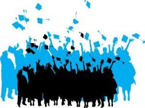 Graduation, alumni giving, young alumni donors, high school giving, scholarship fundraising, graduation, reunion