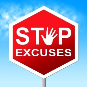 stop excuses, Saad & Shaw